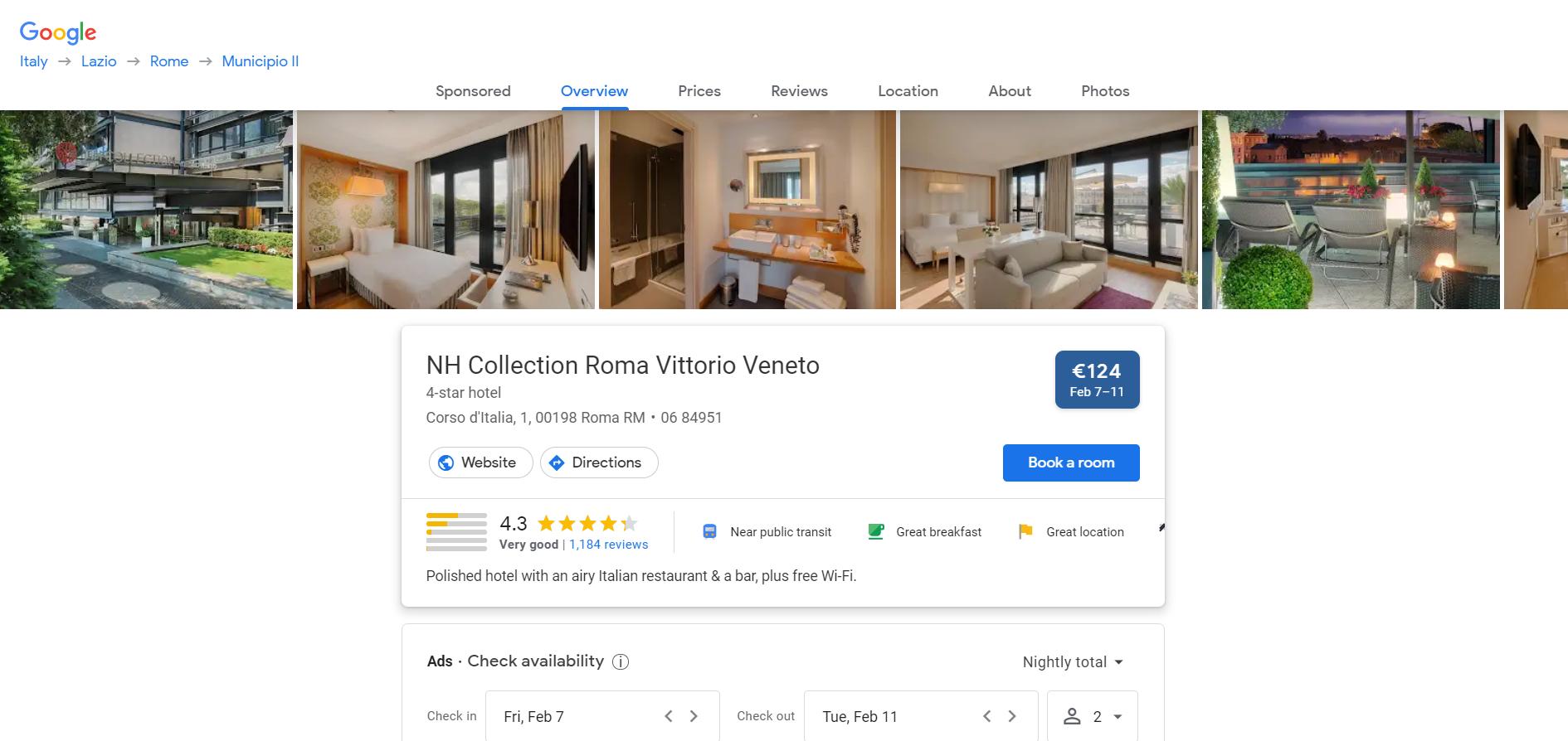 google travel_opportunità_hotel manager e albergatori _presentazione profilo