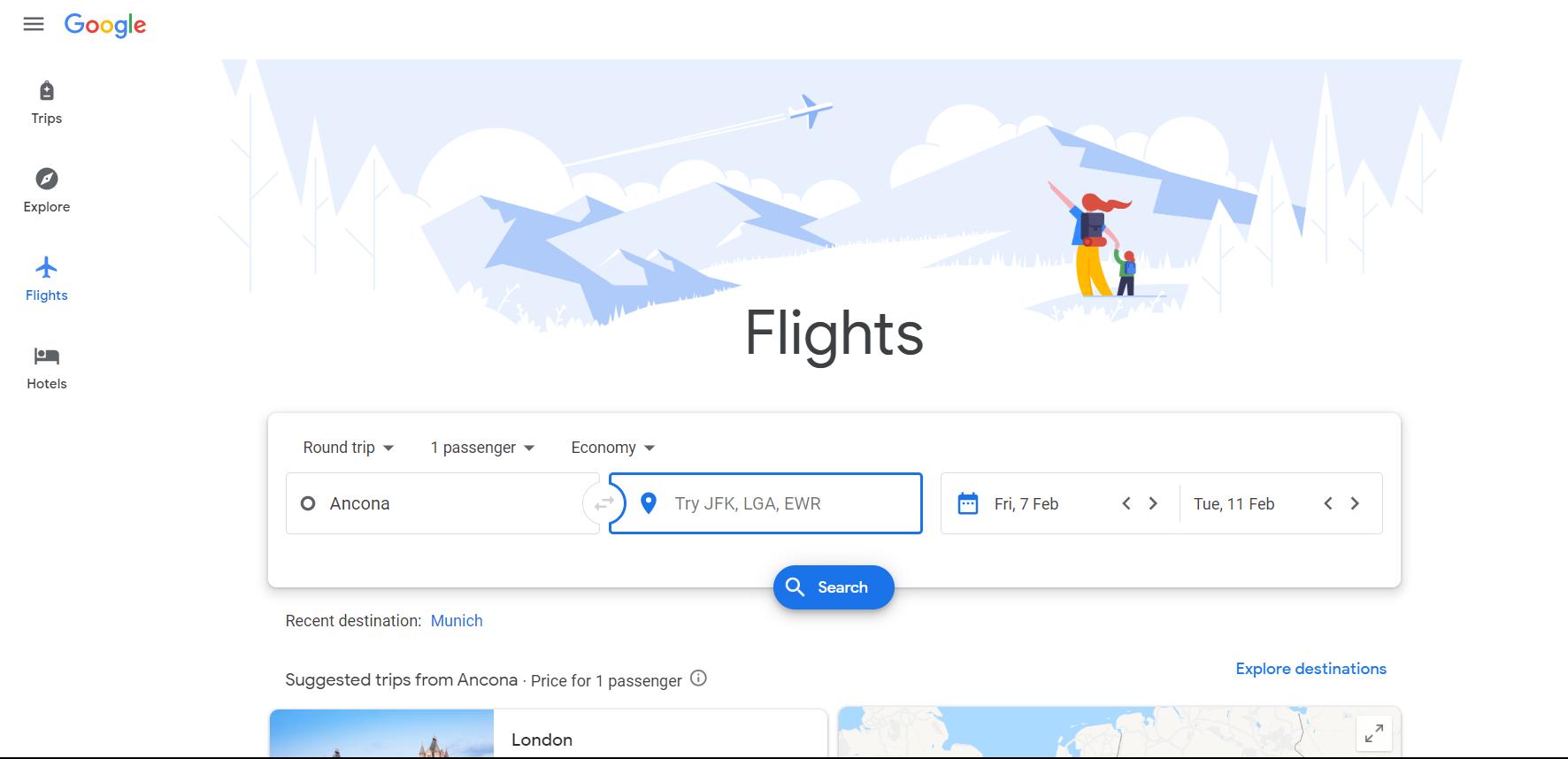 google travel_opportunità_hotel manager e albergatori _flights